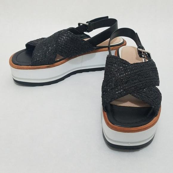 Zara Braided Platform Sandals